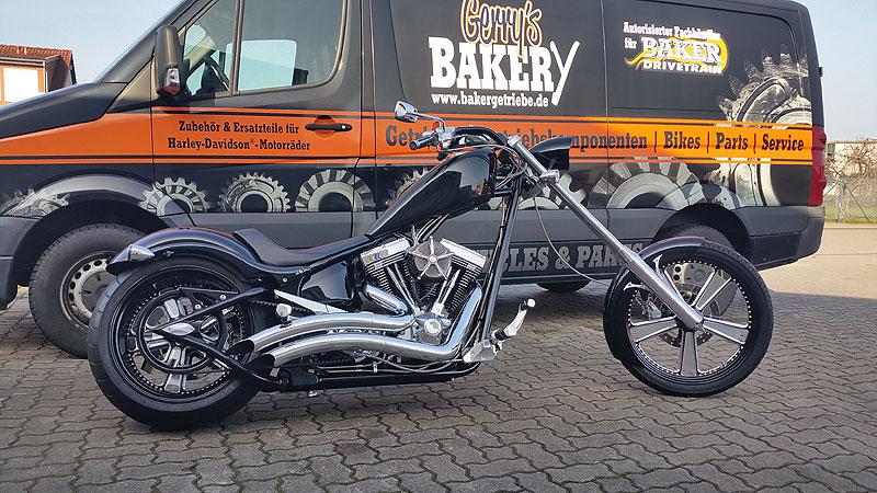 Kundenbikes Big Dog Motorcycles Gerrys Bakery